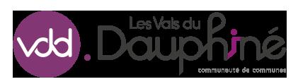 Logo Communauté de Communes Les Vals du Dauphiné - Isère