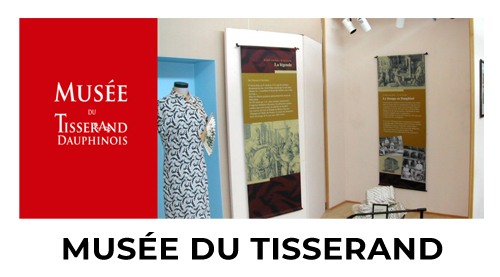 Lien sur le site du Musée du Tisserand - La Bâtie-Montgascon