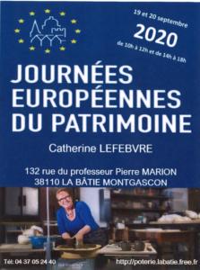 JOURNÉE EUROPÉENNE DU PATRIMOINE