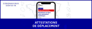ATTESTATION DÉPLACEMENT COVID 19