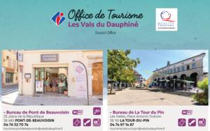 RENDEZ-VOUS DANS VOTRE OFFICE DE TOURISME